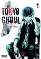 Couverture Tokyo Ghoul, tome 01 Editions Glénat (Shônen) 2013
