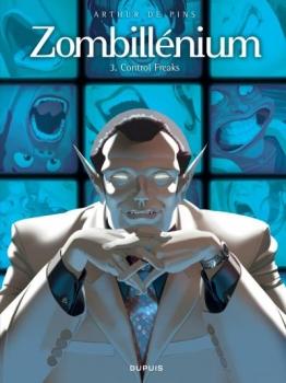 Couverture Zombillénium, tome 3 : Control freaks