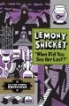 Couverture Les fausses bonnes questions de Lemony Snicket, tome 2 : Quand l'avez-vous vue pour la dernière fois ? Editions Little, Brown and Company (for Young Readers) 2013