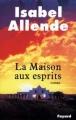 Couverture La Maison aux esprits Editions Fayard 1984