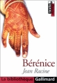 Couverture Bérénice Editions Gallimard  (La bibliothèque) 2001