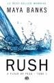 Couverture A fleur de peau, tome 1 : Rush Editions Milady (Romantica) 2013