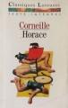 Couverture Horace Editions Larousse (Classiques) 1994