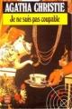 Couverture Je ne suis pas coupable Editions Le Livre de Poche 1982