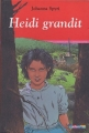 Couverture Heidi grandit Editions Casterman 2005