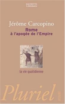 Couverture Rome à l'apogée de l'Empire