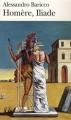 Couverture Homère, Iliade Editions Folio  2007