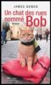 Couverture Un chat des rues nommé Bob Editions Jean-Claude Gawsewitch 2013