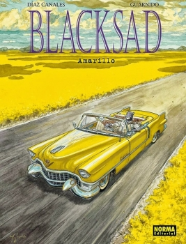 Couverture Blacksad, tome 5 : Amarillo