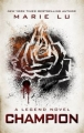 Couverture Legend, tome 3 : Champion Editions Penguin books 2013