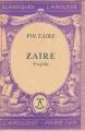 Couverture Zaïre Editions Larousse 1943