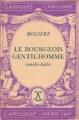 Couverture Le bourgeois gentilhomme Editions Hachette 1940