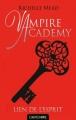 Couverture Vampire Academy, tome 5 : Lien de l'esprit Editions Castelmore 2013