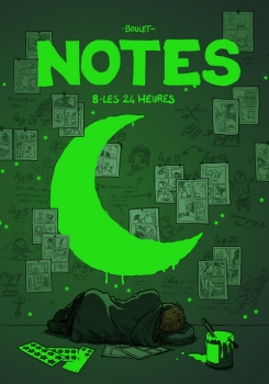 Couverture Notes, tome 08 : Les 24 heures
