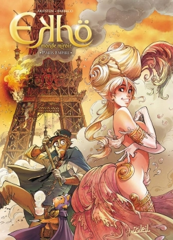 Couverture Ekhö, monde miroir, tome 2 : Paris Empire