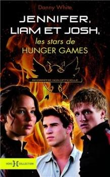 Couverture Jennifer, Liam et Josh, les stars de Hunger Games