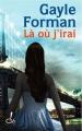 Couverture Là où j'irai Editions Oh! 2011