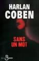Couverture Sans un mot Editions Belfond (Noir) 2011