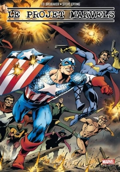 Couverture Le Projet Marvels : La Naissance des super-héros