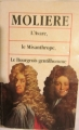 Couverture L'Avare, Le Misanthrope, Le Bourgeois gentilhomme Editions Grands textes classiques 1993