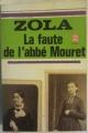 Couverture La faute de l'abbé Mouret Editions Le Livre de Poche 1972
