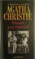 Couverture Passager pour Francfort Editions Hachette (Agatha Christie) 2006