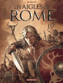 Couverture Les aigles de Rome, tome 4