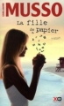 Couverture La fille de papier Editions XO 2012