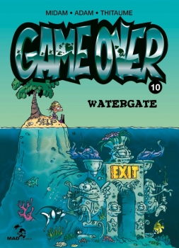 Couverture Game over, tome 10 : Watergate
