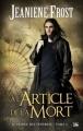 Couverture Le prince des ténèbres, tome 2 : À l'article de la mort Editions Bragelonne 2013