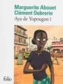 Couverture Aya de Yopougon, tome 1 Editions Folio  2013