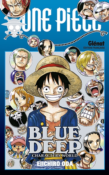 Couverture One Piece DEEP BLUE : Characters World