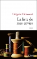 Couverture La liste de mes envies Editions JC Lattès 2013
