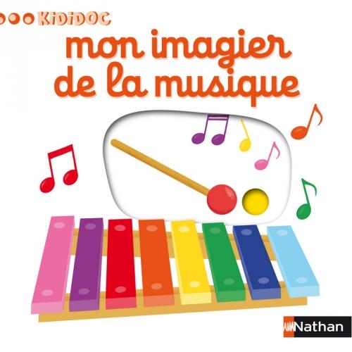Couverture Mon imagier de la musique