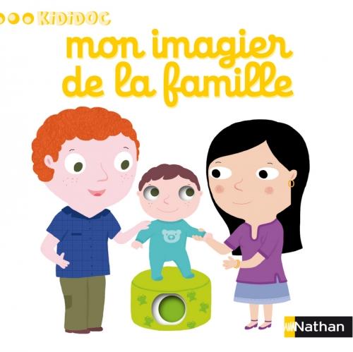 Couverture Mon imagier de la famille