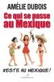 Couverture Ce qui se passe au Mexique reste au Mexique ! Editions Les éditeurs réunis 2011