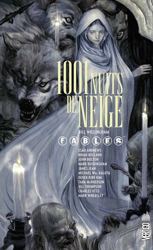 Couverture Fables, tome HS : 1001 nuits de neige