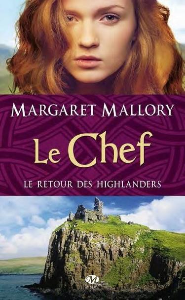 Couverture Le retour des highlanders, tome 4 : Le Chef