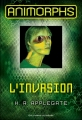 Couverture Animorphs, tome 01 : L'invasion Editions Gallimard  (Jeunesse) 2012