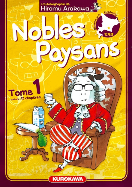 Couverture Nobles Paysans, tome 1