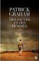 Couverture Des fauves et des hommes Editions Anne Carrière 2012