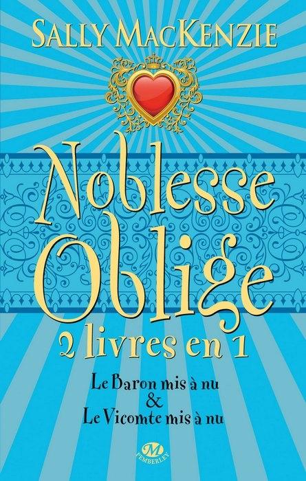 Couverture Noblesse Oblige, intégrale, tome 3