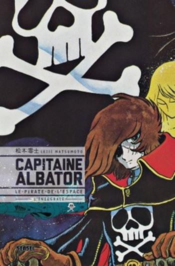 Couverture Capitaine Albator, le Pirate de l'Espace, intégrale