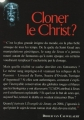 Couverture Cloner le Christ ? Editions France Loisirs 2006
