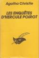 Couverture Les enquêtes d'Hercule Poirot Editions Librairie des  Champs-Elysées  1968