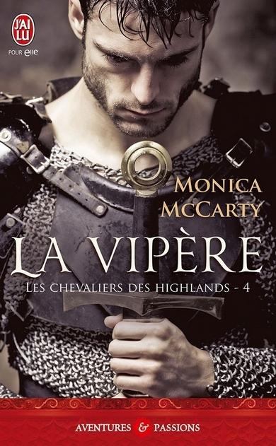 Couverture Les chevaliers des Highlands, tome 4 : La vipère