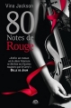 Couverture Eighty Days, tome 3 : 80 Notes de rouge Editions Milady (Romantica) 2013