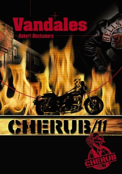 Couverture Cherub, tome 11 : Vandales