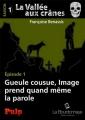 Couverture La vallée aux crânes, saison 1, tome 1 : Gueule cousue, Image prend quand même la parole Editions La Bourdonnaye (Pulp) 2013