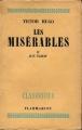 Couverture Les Misérables (4 tomes), tome 4 Editions Flammarion 1947